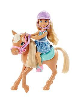 Barbie Barbie Club Chelsea Doll &Amp Pony