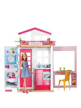 Barbie Barbie 2Storey House &Amp Doll