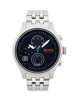 Hugo Boss Amsterdam Blue Multidial Stainless Steel Bracelet Mens Watch