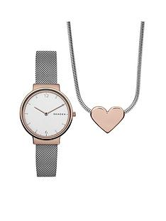 skagen-skagen-ancher-white-dial-rose-tone-case-silver-tone-mesh-bracelet-watch