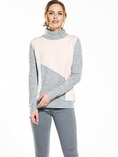 wallis-colourblock-compact-jumper