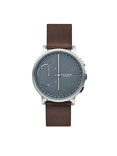 skagen-connected-hagen-hybrid-grey-dial-tan-leather-strap-smart-watch