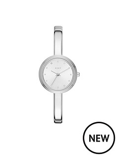 dkny-dkny-murray-silver-tone-dial-silver-bangle-ladies-watch