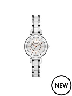 dkny-dkny-ellington-silver-tone-dial-rose-detail-stainless-steel-ladies-watch