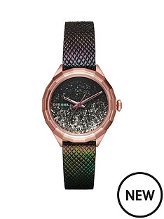 diesel-diesel-kween-black-giltter-dial-black-leather-strap-ladies-watch