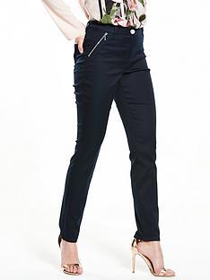 wallis-tinseltown-zip-pocket-trouser
