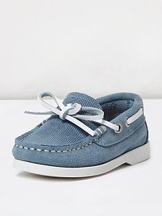 river-island-mini-boys-suede-deck-shoe