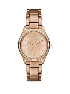 armani-exchange-armani-exchange-nicolette-rose-tone-dial-rose-tone-bracelet-ladies-watch