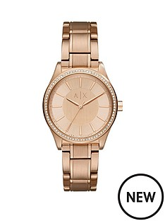 armani-exchange-armani-exchange-nicolette-rose-tone-dial-rose-tone-bracelet-ladies-watch