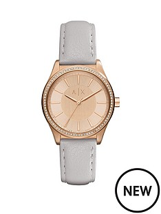 armani-exchange-armani-exchange-nicolette-rose-tone-dial-grey-leather-strap-ladies-watch