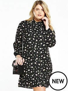 fashion-union-curve-ditsy-print-shirt-dress