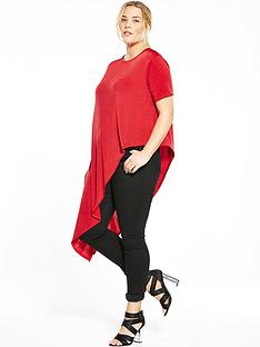 so-fabulous-asymmetricnbspco-ord-jersey-tunic-red