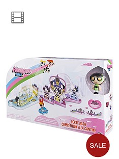 the-powerpuff-girls-the-power-puff-girls-storymaker-playset-2-derby-dash-playset