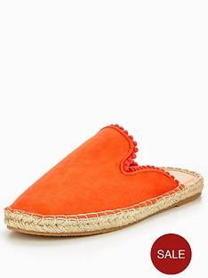 v-by-very-madison-pom-pom-backless-espadrille-orange
