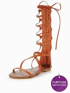 v-by-very-amy-high-leg-gladiator-sandal-tan