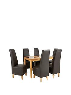 evelyn-120-cm-solid-wood-and-glass-dining-table-6-manhattan-chairs-buy-and-save
