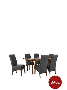 evelyn-120-150-cm-solid-wood-extending-dining-table-6-eternity-chairs