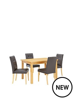 evelyn-120-150cm-solid-wood-extending-dining-table-4-derby-chairs