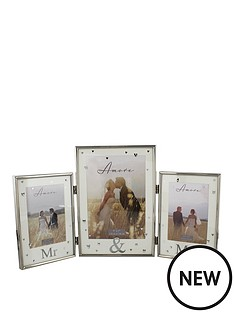 amore-mr-amp-mrs-triple-photo-frame