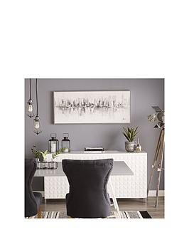 Graham & Brown Graham & Brown New York Reflections Framed Canvas Picture