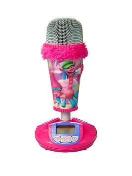 Dreamworks Trolls Microphone Alarm Clock