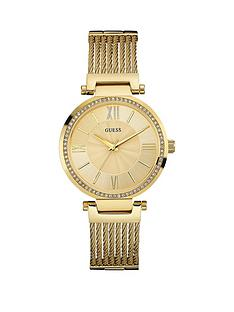 guess-soho-guess-ladies-gold-watch-with-wire-bracelet