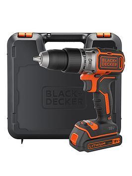Black & Decker Black &Amp Decker B188KGb 18V LithiumIon Brushless Combi Hammer Drill