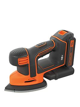 Black & Decker 18-Volt Li-Ion Cordless Mouse Sander