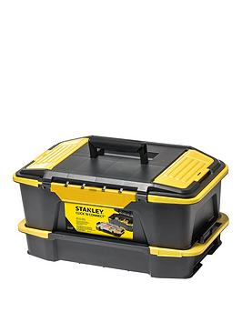 Stanley   Click And Connect Deep Tool Box With Organiser