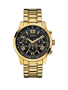 guess-horizon-guess-men039s-chronograph-gold-bracelet-watch