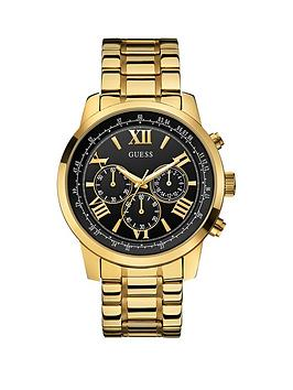 guess-horizon-guess-mens-chronograph-gold-bracelet-watch