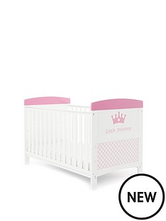 obaby-little-princess-cot-bed