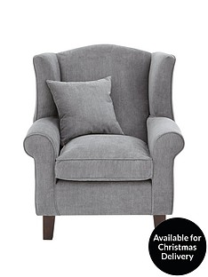 ideal-home-dentonnbspgrace-fabric-wing-chair