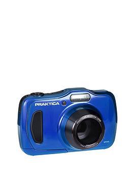 Praktica Praktica Luxmedia Wp240 Waterproof Camera - Blue Picture