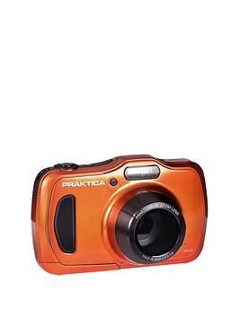 Praktica Praktica Luxmedia Wp240 Waterproof Camera - Orange Picture