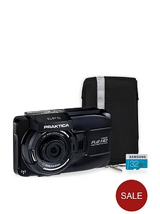 praktica-10gw-wireless-gps-car-dash-cam-kit-inc-32gb-microsd-sd-adapter-amp-case