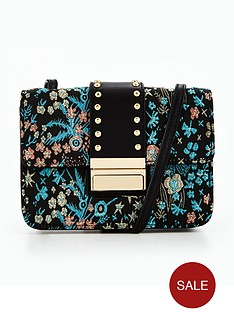 miss-selfridge-table-jacquard-bag