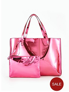 v-by-very-metallic-beach-shopper-with-purse-pouch