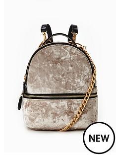 v-by-very-velvet-micro-mini-backpack