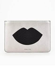 kendall-kylie-kendall-amp-kylie-lips-clutch-bag
