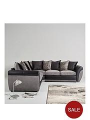 Corner Sofas | Fabric & Leather Corner Sofas | Littlewoods