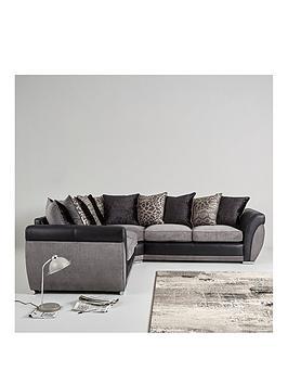 Hilton Double Arm Corner Group Sofa