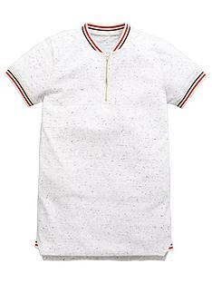 v-by-very-boys-neppy-high-neck-rib-zip-polo