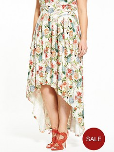 v-by-very-curve-floral-dipped-hem-co-ord-skirt