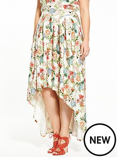 v-by-very-floral-dipped-hem-co-ord-skirt