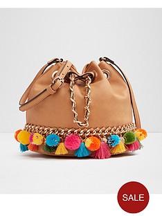 aldo-mini-pom-pom-detail-duffle-bag