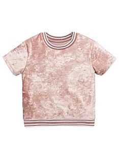 mini-v-by-very-girls-pink-blush-velour-rib-t-shirt
