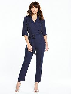 miss-selfridge-utility-jumpsuit-ndash-navy