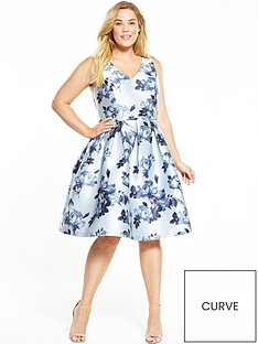 chi-chi-london-curve-floral-print-midi-dress-blue