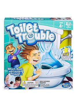 Toilet Trouble Game From Hasbro Gaming